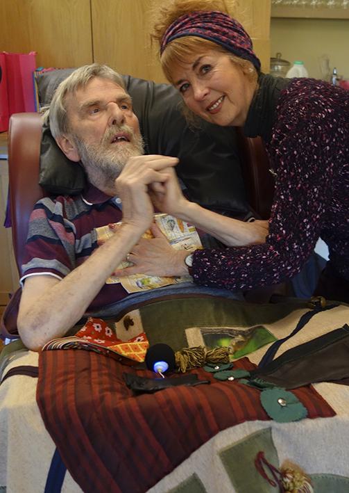 Laugh dementia sensory blanket